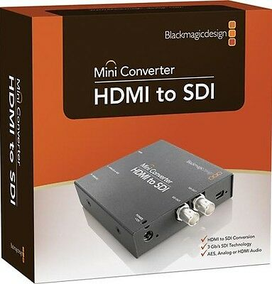 Blackmagic Design Mini Converter HDMI to SDI Mini Converter - Excellent MINT!!!