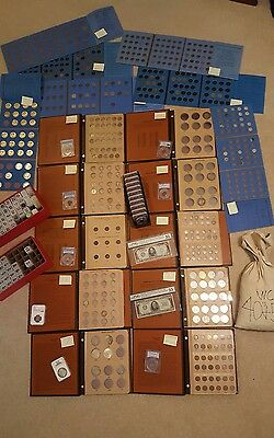 Complete Huge Entire Coin Collection Lot Rare 500 1000 Dollar Bill Silver