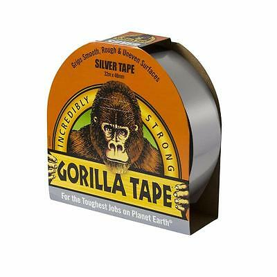Gorilla 32m Incredibly Strong Silver Adhesive Tape 48mm x 32m