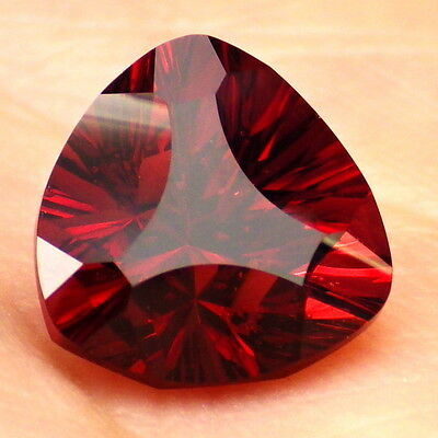 ROSE GARNET-TANZANIA 3.88Ct CLARITY SI2-DEEP ROSE RED COLOR-FOR TOP JEWELRY!