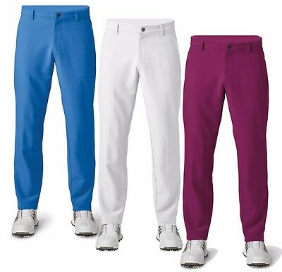 Adidas Ultimate 365 3 Stripes Golf Pants 2017 Summer Color Collection