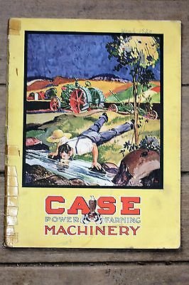 ORIGINAL 1920 J.I. Case Power Farming Machinery Catalog, Very Nice Condition
