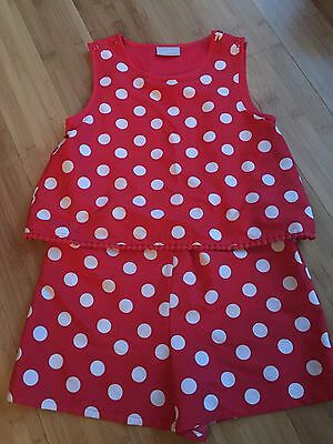 girls playsuit age 8
