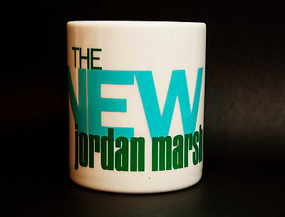 Vintage Jordan Marsh Department Store Ceramic Coffee Mug 10 oz