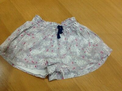 mini boden girls 3-4 years lined shorts