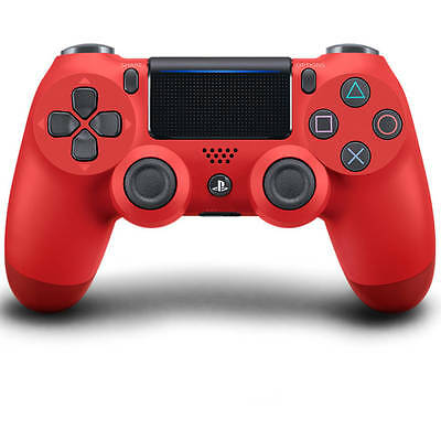 Sony - PS4 Playstation 4 Dualshock Controller - Magma Red