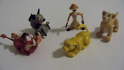 Vintage Burger King Lot of Lion King Figures Toy Disney Lot #36