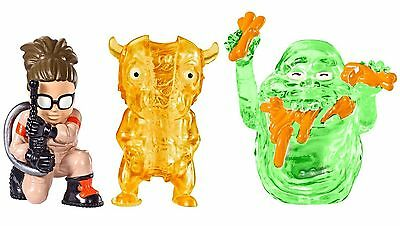 NEW Ghostbusters Ecto Minis Figures 3 Pack Abby, Slimer Hot dog, Splitting Ghost