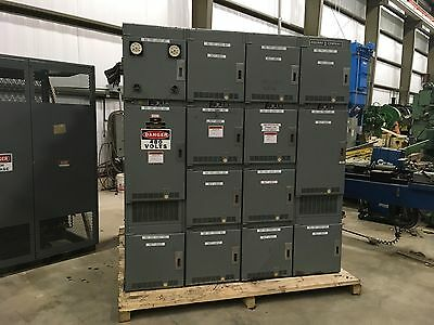Square-D Power Zone II Low Voltage Drawout Switchgear, 3000amp, 14 bucket rack