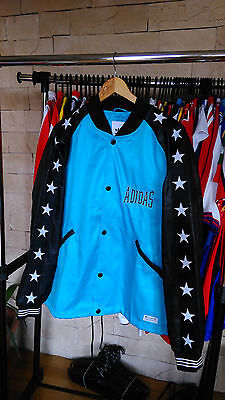 Adidas Originals Boxing Blouson track Jacket 1974 - Blue/Black L BNWT