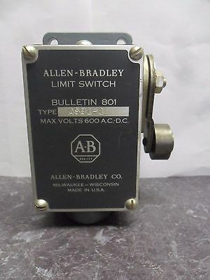 New Allen Bradley 801 ASB1-1 Limit Switch 600 Volts