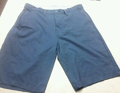 mens blue 'Subculture' casual/walking shorts size 32