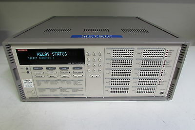 Keithley 7002 400 Ch - 10 Slot Full Rack Switch Mainframe