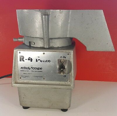 Robot Coupe R4P Commercial Food Processor Continuous Feed Chute Chopper Cutter