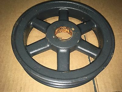 """Browning Double 2-Groove V-Belt Pulley Sheave  2Bk90H A/b 8-3/4"""" Dual 1/2 5/8"""