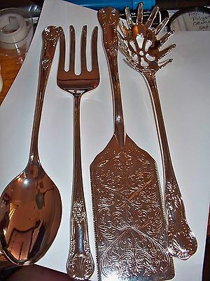 Silver Plate, Serving, 4 Pieces