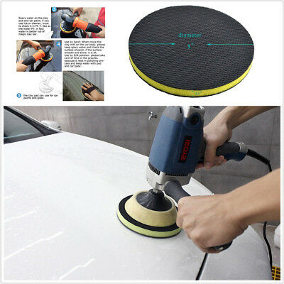 1PC Clay Magic Bar Polish Sponge Pad Auto Car Detailing Cleaning Wax Round Pad