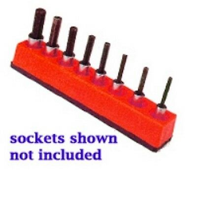 3/8 in. Drive Universal Magnetic Rocket Red Socket Holder 10-19mm MTS387 New!