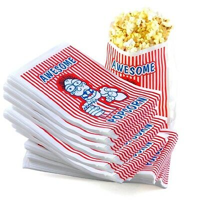 Great Northern Case of 500 Premium Grade 2 Ounce Movie Theater Popcorn Bags