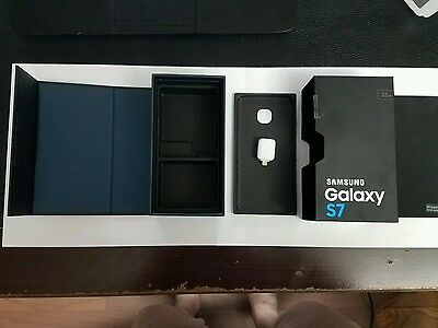 Samsung Galaxy S7 Box Only With Charger Adapter