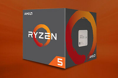 AMD RYZEN 5 1600 CPU AM4 3.6GHz 6 Core 12 Thread Processor Great for Gaming