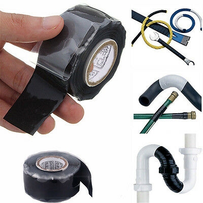 1PC Briefpapier Self Fusing Silicone Performance Tape Bonding Wire Hose Tape.