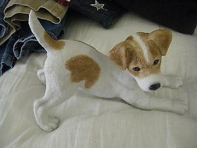 "Lenox Limited Edition "" JACK RUSSELL TERRIER PUPPY  Figurine"
