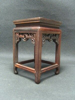 Hand Carved Hard wood Root Carving Stand For Vase Bowl Pot Statue Bonsai Display