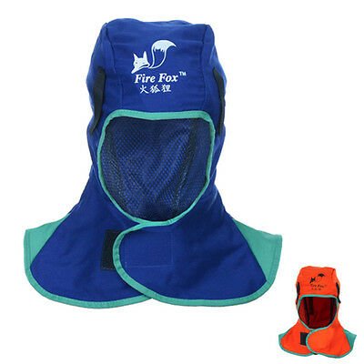Flame Retardant Safey Helmet Welding Neck Protective Hood Welder Head Cap Cover