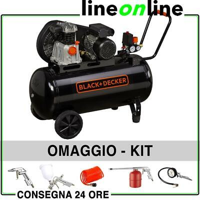 Compressore aria 100 lt Black and Decker BD 220/100-2M