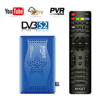 2017 DVB-S2 HD AC3 Digital Satellite Receiver + Youtube Combo WIFI Key Decoder