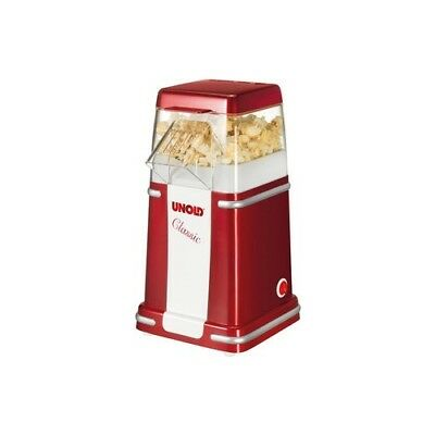 Unold 48525 ROT/SI 48525 POPCORNMASCHINE CLASSIC 900W silber-rot