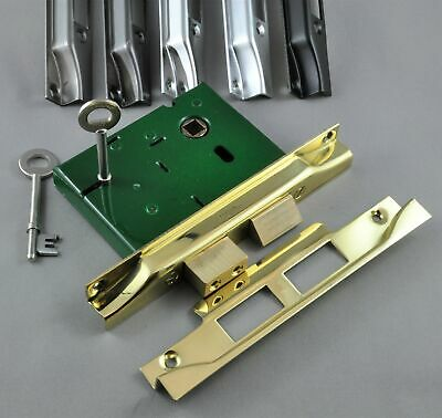 JACKSONS-REBATED MORTICE DEAD LOCK-JM560R-6 FINISH-MADE IN AUSTRALIA-french door