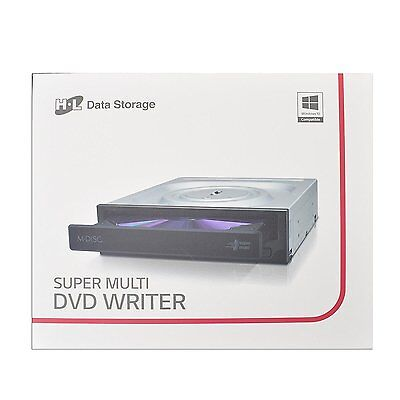 Hitachi-LG Super-Multi DVD-RW Internal PC Optical Drive GH24NSD0-ASAR10B New Uk