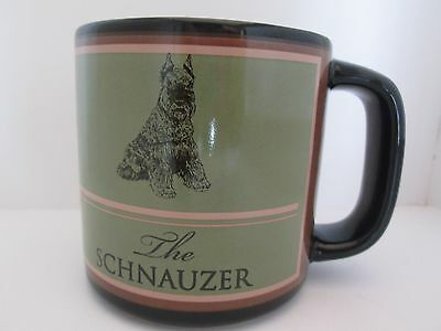 Schnauzer Coffee Cup Large Mug Russ Collectible Coffee Mug Schnauzer Dog Cup