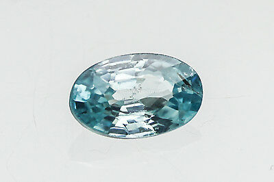 ZIRKON blau facettiert oval ca 5x3 mm rund ca. 0,3 ct TOP Schliff !