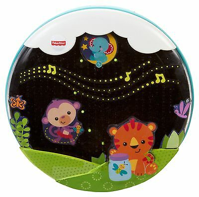Fisher-Price Shooting Stars Glow Soother Baby's Night Bed Fun New Free shipping