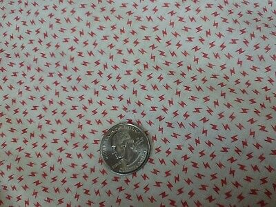 Antique Fabric 19c  Dolls, Quilts sm scale pink/white 2 yds