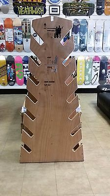 Dwindle Skateboard Deck/Completes Display Stand - Collectors - Store POS