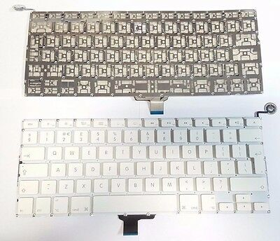 "APPLE MACBOOK UNIBODY A1342 13"" KEYBOARD UK LAYOUT 2009-2010 + Power Button"