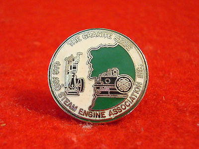 Granite State Gas & Steam Engine Association Inc Pin Back Old Man of Mountains