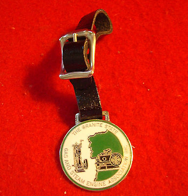 Granite State Gas & Steam Engine Association Incorporated Key Pocket Watck FOB
