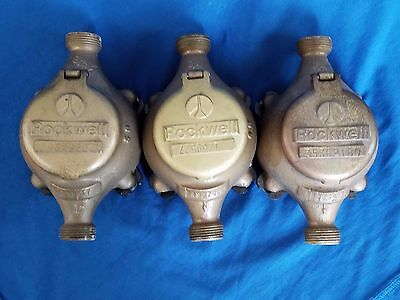 Antique Brass Pressure Gauge Brass Water Meters