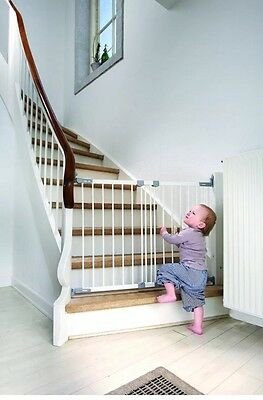 BabyDan Super Flexi Fit Extending Metal Stairs Doors Baby Child Safety Gate