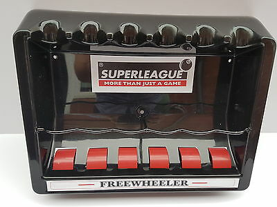 6 way Super league free wheeler cue rack