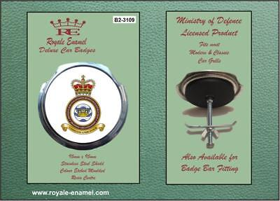 Royale Military Car Grill Badge Fittings RAF DEFENCE SURVIVAL EXTRACTION B2.3109