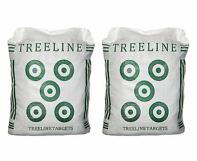 Treeline Field Point Archery Bag Targets (2),You-Fill, Bow Crossbow Bag Hunting