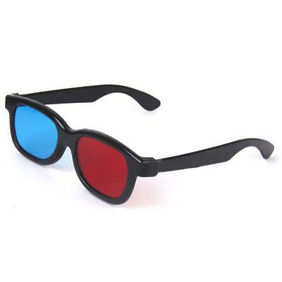 5Pack Red Blue Cyan 3D Glasses For Dimensional Anaglyph Movie Game DVD
