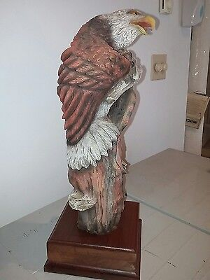 J.H.  Boone Sculpture Sky Warrior, Limited Edition, Bald American Eagle 18 1/2""
