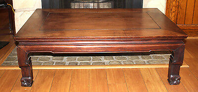 Antique Chinese Rosewood -Huanghuali Kаng Table